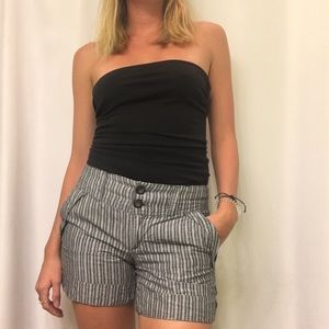 Gap shorts, blue and white striped